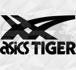Sticker Asics Tiger