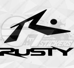 Sticker Rusty