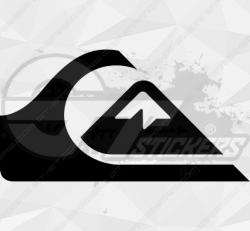 Sticker Logo Quicksilver