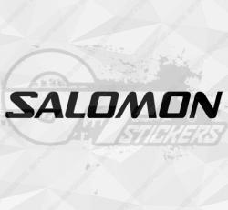 Sticker Logo Salomon