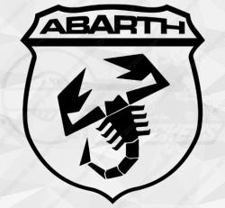 Sticker Logo Abarth