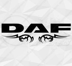 Stickers Daf Tribal