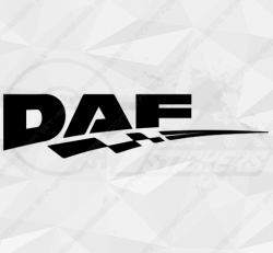 Stickers Daf Damier