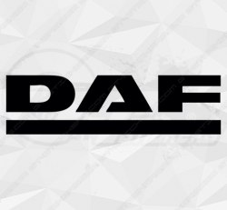 Stickers Logo Daf