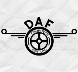 Stickers Daf Logo