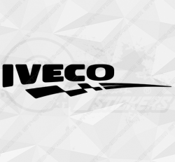 Stickers Iveco Damier