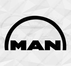 Stickers Man Logo