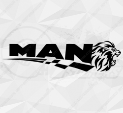 Stickers Man Lion & Tribal