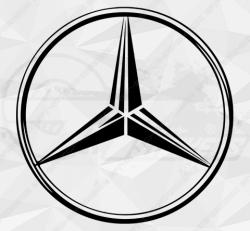 Stickers Mercedes Logo