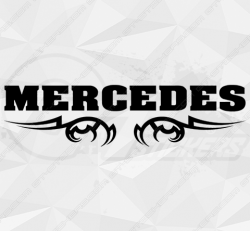 Stickers Mercedes Tribal