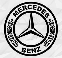 Stickers Mercedes Old School