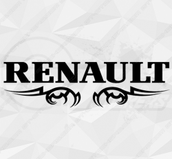 Stickers Renault Tribal