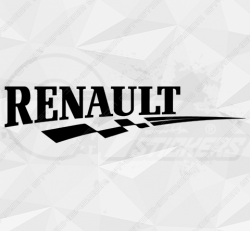 Stickers Damier Renault