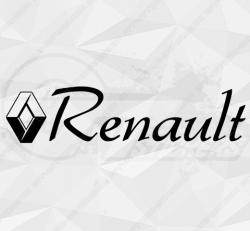 Stickers Renault Et Ecriture