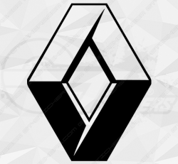 Stickers Logo Renault Officiel