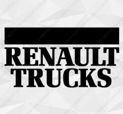 Stickers Logo Renault Trucks