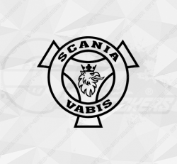 Stickers Scania Vabis Rond