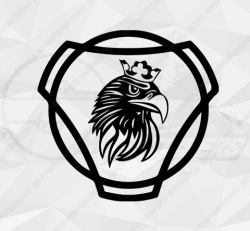 Stickers Scania Griffon Rond