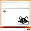 Sticker déco de boite aux lettres - petit chien Stop pas de pub