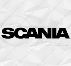 Stickers Scania Lettrage