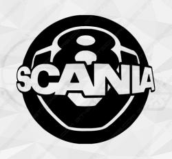 Stickers Scania Boule De Billard