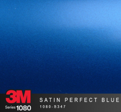Film Covering 3M 1080 - Satin Perfect Blue