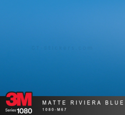 Film Covering 3M 1080 - Matte Riviera Blue