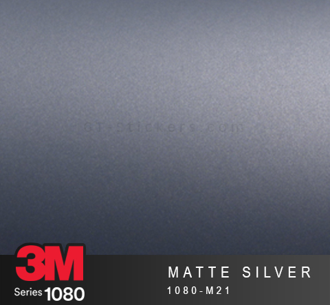 Film Covering 3M 1080 - Matte Silver
