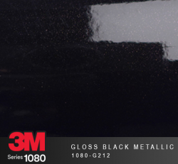 Film Covering 3M 1080 - Gloss Black Metallic