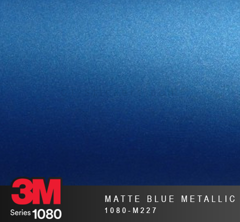 Film Covering 3M 1080 - Matte Blue Metallic