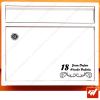 Sticker déco de boite aux lettres à personnaliser avec votre numéro de rue et vos noms / prenoms - style design simple art deco