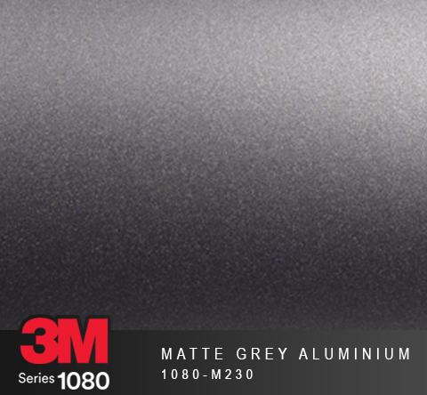 Film Covering 3M 1080 - Matte Grey Aluminium