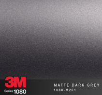 Film Covering 3M 1080 - Matte Dark Grey