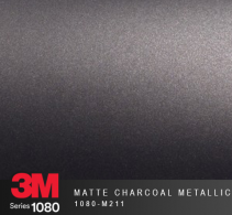 Film Covering 3M 1080 - Matte Charcoal Metallic