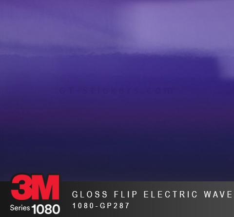 Film Covering 3M 1080 - Gloss Flip Electric wave