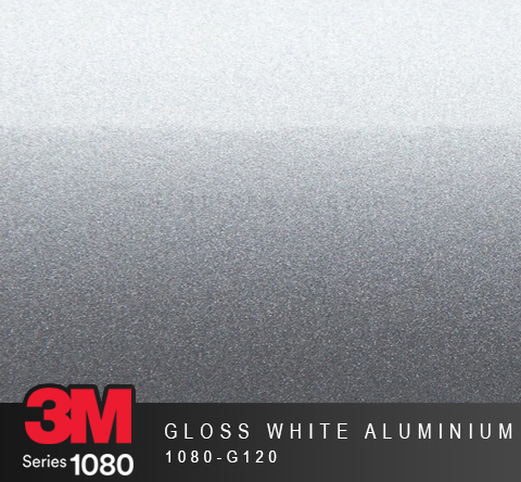 Film Covering 3M 1080 - Gloss White Aluminium