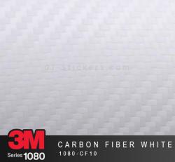 Film Covering 3M 1080 - Carbon Fiber White