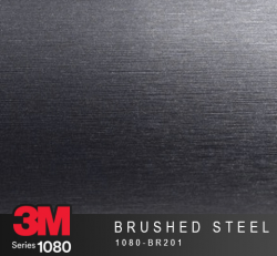 Film Covering 3M 1080 - Brushed Steel