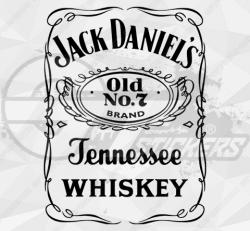 Stickers Stickers Jack Daniel's