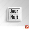 2 Stickers  - Jour & Nuit