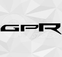 Sticker Derbi GPR