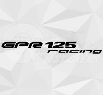 Sticker Derbi GPR 125 Racing