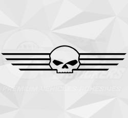 Sticker Harley-Davidson Skull