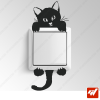Sticker - petit chat / chaton escalade grimpe