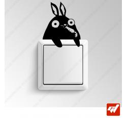 Sticker - petit lapin mignon