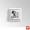 Sticker - bonhomme personnage humour ouch electrocuté
