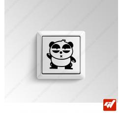 Sticker - petit panda anime manga