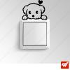 Sticker  - joli petit chien chiot