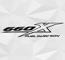 Sticker Yamaha 660X Fuel Injection