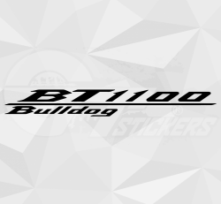 Sticker Yamaha BT 1100 Bulldog